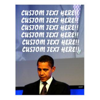 Postal adaptable de Barack Obama