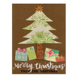 Postal adaptable del navidad