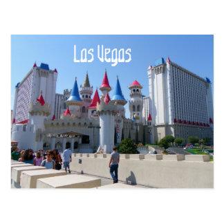 ¡Postal agradable de Las Vegas! Tarjetas Postales