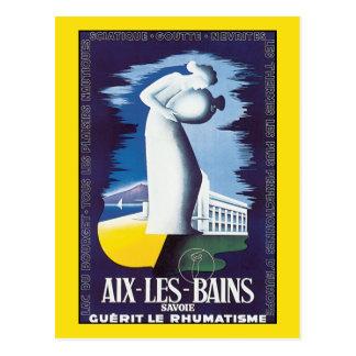 Postal: Aix-les-Bains - aguas curativas