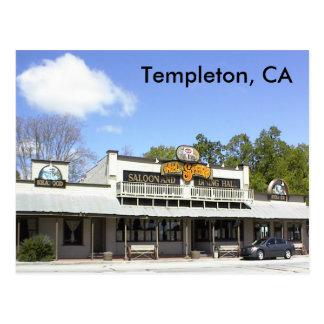 Postal-AJ-Estímulos, Templeton, CA Postales