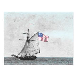 Postal alta de la nave