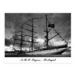 Postal alta portuguesa de la nave