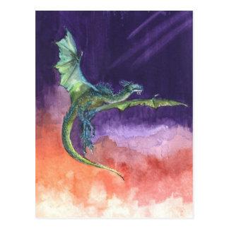 Postal altísima del dragón
