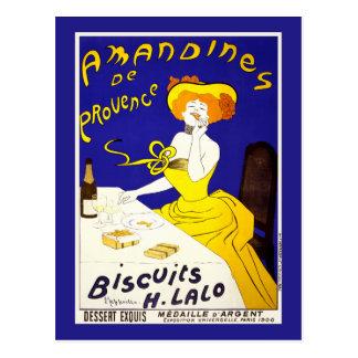 """Postal: """"Amandines de Provence"""" por Cappiello Tarjeta Postal"""