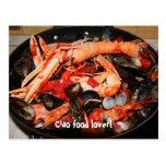 Postal: ¡Amante de la comida del Ciao!