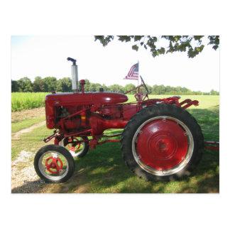 Postal americana del granjero