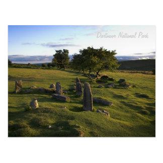 Postal antigua del acuerdo de Dartmoor