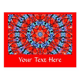 Postal - arte 731 del fractal