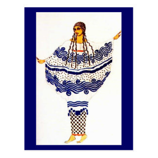 Postal-Arte de la Moda-Bakst 15 Tarjetas Postales