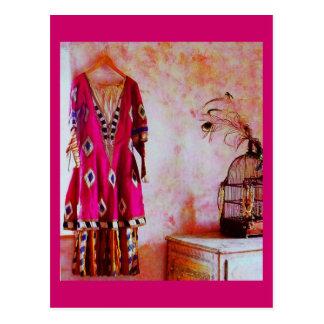 Postal-Arte de la Moda-Bakst 8 Tarjeta Postal