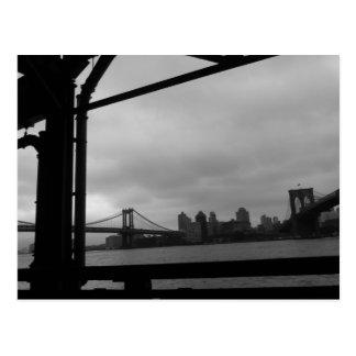 "postal asimétrica de los ""puentes fraternales"""