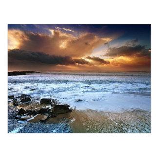 Postal asombrosa de las playas