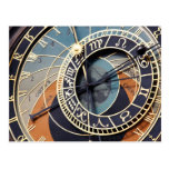 postal astronómica del reloj de Praga
