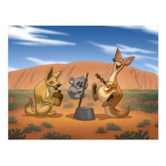 Postal australiana de la banda de jarro