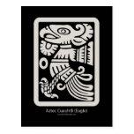 Postal azteca de Cuauhtli - de Eagle (masilla)