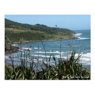 Postal, bahía de la ballena, raglán, Nueva Zelanda Postales