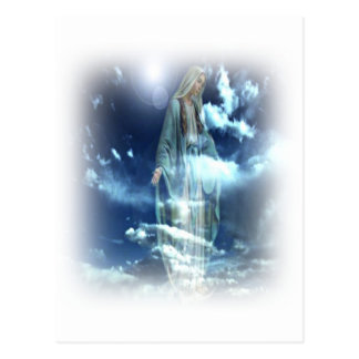 Postal bendecida de Maria
