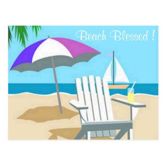 Postal bendecida playa