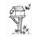 Postal: Birdhouse