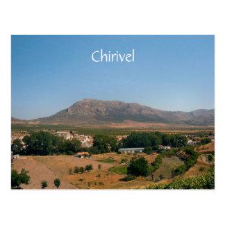 Postal bonita de Chirivel, Almería, España