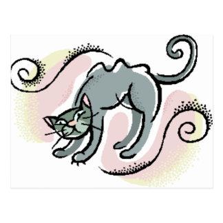 Postal bonita del gatito