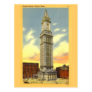 Postal Boston Massachusetts