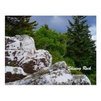Postal brillante de la roca