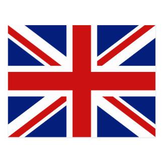 Postal BRITÁNICA de la bandera