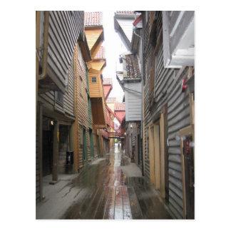Postal: Calzada de Bryggen, Bergen, Noruega