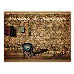 postal Camino de Santiago