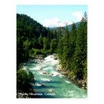 Postal canadiense de la montaña rocosa
