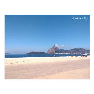 Postal card - beach of the glory