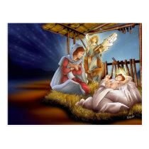 Postal card of Christmas