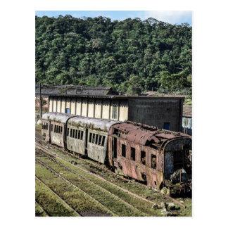 Postal card - Paranapiacaba Old Train - Brasil|3