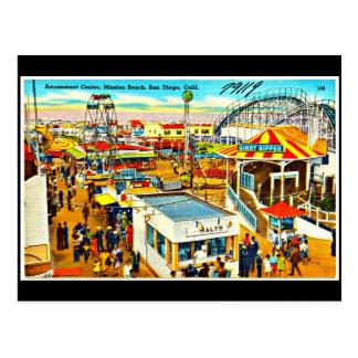 Postal-Carnaval/Amusement-7 Postales