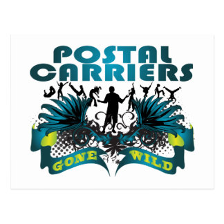 Postal Carriers Gone Wild Postcard