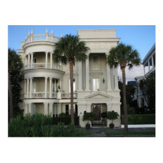 Postal casera histórica de Charleston Carolina del