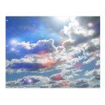 Postal celestial de las nubes