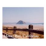 Postal central de California de la roca de Morro d