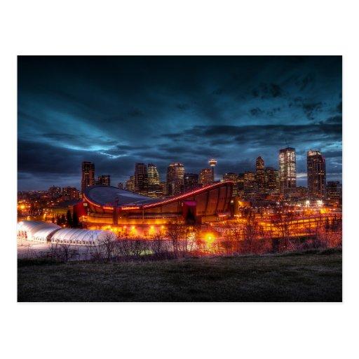 Postal céntrica de Calgary