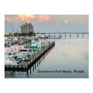 Postal céntrica de fuerte Myers la Florida