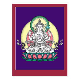 POSTAL Chenrezig/Avalokiteshvara