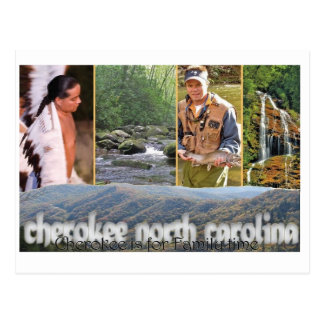Postal cherokee del NC
