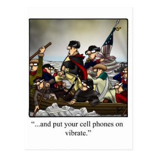 Postal chistosa patriótica