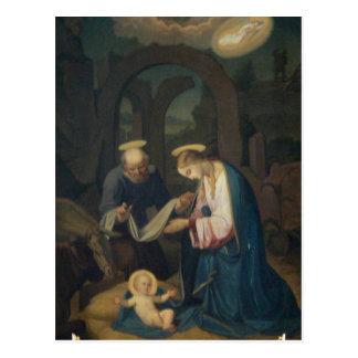 Postal (cita): B. Johnson Birth de Cristo
