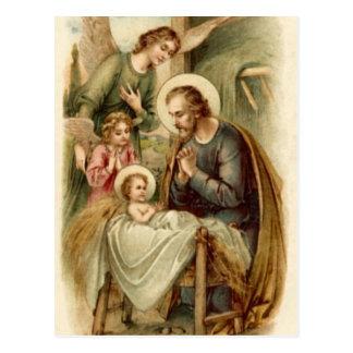 Postal (cita): Natividad de San José