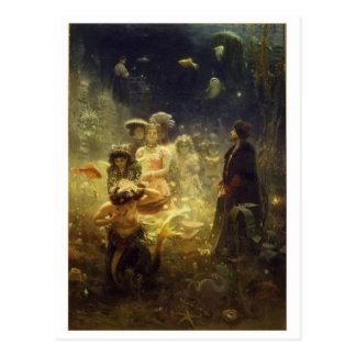 Postal clásica de la pintura