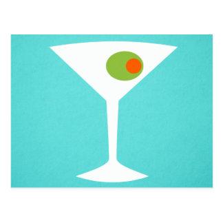 Postal clásica de Martini de la película