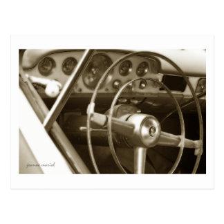 Postal clásica del coche 19
